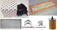 Genuine Citroen C4 Grand Picasso Oil Air Fuel Pollen Filter Filters Service Kit