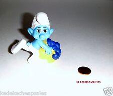 Mcdonalds Toy The Smurfs 2011 Movie PVC Figure # 11 Greedy Smurf Cake Topper