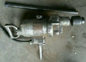 Hisey Universal Motor Tool heavy duty drill 3/4 Jacobs No 36 chuck 1902