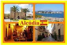 Alcudia, Majorca, SPAGNA - Negozio di souvenir novità Magnete del frigorifero -
