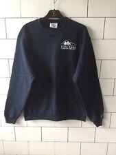 Urban vintage rétro usa Bleu Champion Sweat-shirt Pull Overhead Medium #231
