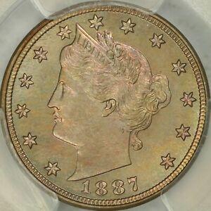 1887 Proof Liberty Nickel PCGS PR66 CAC