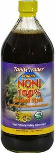 Tahiti Trader Noni Juice, High Potency, 32 Fluid Ounce
