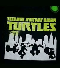 LARGE Teenage Mutant Ninja Turtles t-shirt: *New With Tags* glow in dark punk