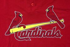 St. Louis Cardinals t-shirt jersey #8 USA flag Majestic red men L large