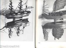 Les plus belles maquettes de la marine en bois  catalogue de vente Belgique