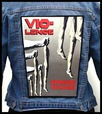 VIO-LENCE - Oppressing the Masses --- Giant Backpatch Back Patch