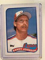 1989 Topps Randy Johnson #647 Rookie RC- MINT-PERFECT GEM-RARE