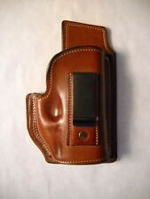 Springfield XDS .45 W/Laser Inside the Waistband Holster Brown Leather IWB
