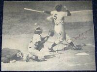 Joe DiMaggio Signed Autographed Baseball Magazine Photo Autograph Reference LOA