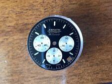 Zenith El Primero 400 De Luca Quadrante Dial Vintage Panda Trizio Tritium
