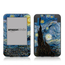 Kindle Keyboard Skin - Starry Night by Vincent van Gogh - Sticker Decal