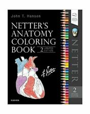 Netter Basic Science Ser.: Netter's Anatomy Coloring Book Updated Edition by Jo…