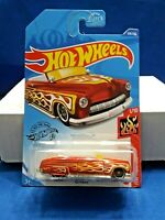 Hot Wheels '49 Merc HW Flames #1/10 2020 M Case #219/250 Red Diecast 1:64 Scale
