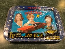 Vintage 1981 Dukes Of Hazzard TV Tray w/ Original Wrapper General Lee Daisy Duke