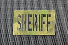 Infrared ATACS-FG SHERIFF Patch County SWAT SERT
