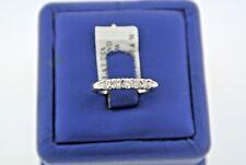 Platinum 0.35 CT Diamond Ladies Wedding Band, 4.7gm, Size 5.75, S101392