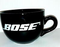 Bose Logo Coffee Mug.  Oversized 16 Oz.  Audio Company.  Cup.  Beverage