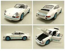 1/18 Autoart 1973 Porsche 911 carrera RS 2.7 Blanco/azul