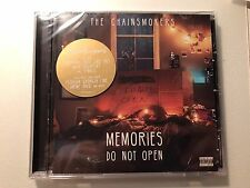 The Chainsmokers - Memories Do Not Open 2017 CD Album BRAND NEW SEALED