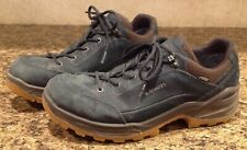 LOWA Renegade GTX Lo Men's Hiking Shoes Navy / Brown Size 9 M
