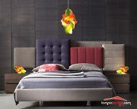 SET Luci camera da letto Lampada soffitto Vintage + 2 lampade comò MONTATE