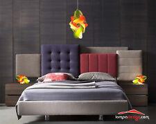 SET Luci camera da letto Lampada soffitto + 2 lampade comò MONTATE Luce soft led