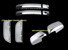FOR 2005-2012 NISSAN PATHFINDER CHROME 4 DOOR HANDLE MIRROR COVERS