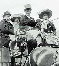 Lusitania Alfred Gwynne Vanderbilt Driving Coach And Horses 1909 Photo Article