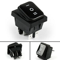 RLEIL RL2-203 Waterproof IP65 Boat Car Rocker Switch 6Pin ON-Off-ON 125/250VAC