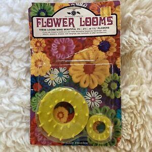 Vintage Studio Twelve - Multi Fleur Loom & Mini Flower Loom USA 5088