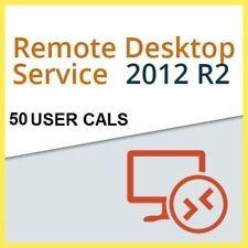Windows Server 2012 R2  Remote Desktop Services 50 User Cal Digital License key