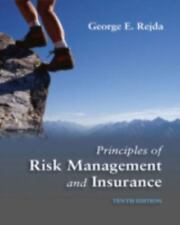 Principles of Risk Management and Insurance 10th Edition Like New Condition