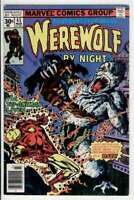 WEREWOLF by NIGHT #43, VG, Iron Man, Blood, Full Moon, 1972, more WW in store