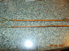 Antique Split Bamboo Split bamboo Fishing Rod / fly rod 2 Tips