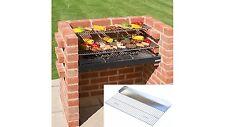 Black Knight Large brick BBQ kit 90 x 39 (4 brick wide) BKB 331G + GRIDDLE GRILL