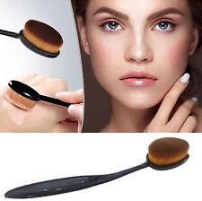 NEW Pro Oval Make up Brush Cream Foundation Powder Contour Cosmetic Kabuki Tool