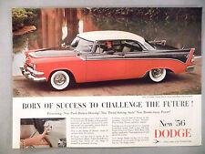Dodge Royal Lancer PRINT AD - 1955 ~~ 1956 model