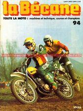 LA BECANE  94 TARQUINIO PROVINI PUCH MONZA CHEETAH DS 60 R LA PUBLICITE 1979