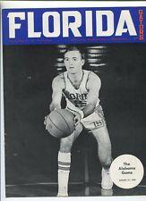 1968  Florida Gators Vs  Alabama    Basketball  program MBX14