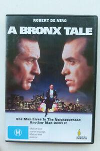 A Bronx Tale All Region DVD - Robert De Niro 90s Crime Drama Movie - Free Post