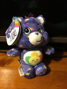 "NEW 2020 Care Bears - 7"" Mini Plush Dangler - Harmony Bear"