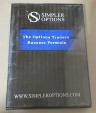 DVD - Simpler Options - The Options Trader Success Formula (2014)  John Carter