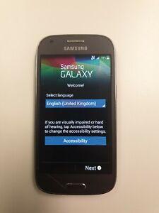 Samsung Galaxy Ace Ace 4 - 4GB - Black Smartphone cracked screen