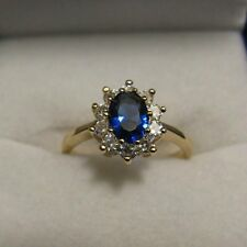 Dolly-Bijoux Bague T58 Marquise Saphir Cz 11mm Plaqué Or 18K MadeInFrance