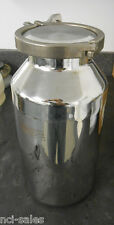 "EAGLE STAINLESS STEEL 5 LITER BOTTLE BTB-16 4"" TRI CLOVER CLAMP & COVER/LID"