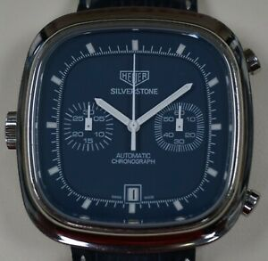TAG Heuer Silverstone 150th Anniversary Limited Edition Blue CAM2110 #0063/1860