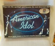 American Idol Board Game with Karaoke CD (2003) New! Sealed!