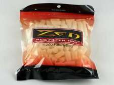 FOUR BAGS ZEN Regular Size Cigarette Filter Tips - 200 per bag - 800 TOTAL