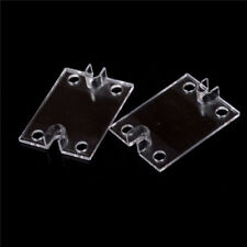 2PCS Single Phase Solid State Relay SSR Safety Cover Clear Plastic Covers new.